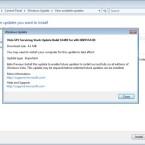 Die veränderten Registry-Schlüssel ermöglichen den Download eines Patches namens <i>Servicing Stack Update Build</i>. Dieser schaltet die Vorabversion des SP2 frei.