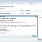 Ist der Patch installiert und das System einmal neugestartet worden, steht das Service Pack 2 für Vista zum Download bereit.