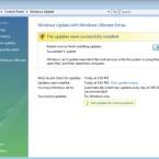 Meldet Vista, dass das Serrvice Pack erfolgreich installiert wurde, ist ein weiterer Neustart des Computers nötig.