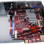 MSI hielt sich mit Maßen von 25 x 17 Zentimetern nicht an den Mini-ITX Standard.