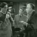 """Im \""""Internet Archive\"""" finde sich viele Spielfilm-Klassiker: Hier zum Beispiel ein Szenenbild aus \""""Sherlock Homes an the secret weapon\"""" von 1943."""