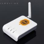 Äußerlich scheint La Fonera kaum mehr als ein kleiner Access-Point zu sein. Mit integrierter Firewall und der Möglichkeit, selbstständig eine Verbindung über ein DSL-Modem aufzubauen, läuft sie auch als Mini-Router.