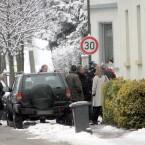 Türbruch: Rein zufällig war auch ein Kamera-Team vor Ort