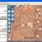 Per KML-Datei zeigt Google Earth die Flüchtlingslager mitsamt Zusatzinformationen an.
