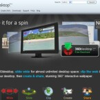 Vergrößerung des Desktops, optisch ansrechende Panorama-Bilder und Verwaltung nützlicher Wdigets - alles in einem.