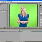 Mit After Effects lassen sich vor einem grünen Hintergrund aufgenommene Videos nachträglich verändern.