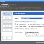 Hier können Sie die Sprache auswählen und entscheiden, ob der CCleaner automatisch mit Windows starten soll. Auch die automatische Suche nach Updates lässt sich hier aktivieren.