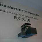 Sanyo PLC-XL50 auf der CES in Las Vegas.