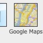 Oder auch Google Maps und andere Funktionen