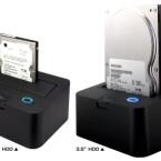 Erhältlich ist eine Version für 2,5 Zoll und für 3,5 Zoll Festplatten.