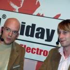 Jens Hilgers und Nik Adams