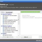 Im Statusfenster sehen Sie, womit sich CCleaner gerade beschäftigt. Nach wenigen Sekunden ist der Optimierer bereits fertig.