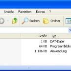 Diese Dateien sollten sich im Download befinden. Ein Doppelklick auf die EXE startet Vystal.