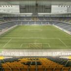 Das Stade de Suisse in Bern, das Nationalstadion der Schweizer.