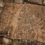 Mittels Stadtkarte werden die verschiedenen Schauplätze bereist