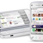 Das N97 verfügt sowohl über einen Touchscreen, als auch eine QWERTZ-Tastatur.