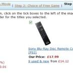 Die Fernbedienung und das HDMI-Kabel erhalten Sie kostenlos dazu.