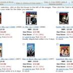Umgerechnet neun Euro kostet ein zusätzlicher Bluray-Film in diesem Bundle.