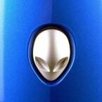 Das gesicht blickt finster drein, auch der Computer ist ein Killer: Leistung zählt beim Alienware Area-51.