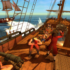 Ein Blick aufs Deck kann manchmal ganz interessant sein. Generell waren die Animationen im Spiel gut ausgearbeitet.