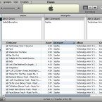 So sieht unsere Datenbank in der Übersicht in iTunes aus...