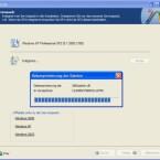 Geben Sie den Pfad zum Service Pack 3 an, welches als Installer auf der Festplatte liegen muss.