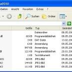 Im gezippten Ordner findet sich neben einigen Screenshots auch die EXE, welche FastAero startet.