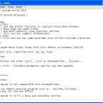 Wichtige Aktualisierungen und Beschränkungen der Funktionalität finden Sie in der Readme.txt im FastAero-Ordner.