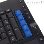Leider gibt es für die Multimedia-Schalter derzeit nur festgelegte Profile statt freie Programmierbarkeit.