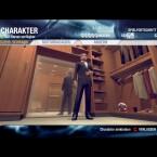Wenn das Charaktermenü nicht gerade abstürzt, dient es der Individualisierung der Spielfigur. Neben dem Klamottenwechsel sind auch kosmetische Korrekturen möglich.