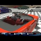 In der hauseigenen Garage darf der Fahrer seine gut motorisierten Errungenschaften nach Herzenslust bewundern.