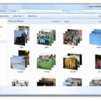 Ordner mit Fotos bekommen eine neue Ansicht, die auf den ersten Blick die Inhalte zeigt.