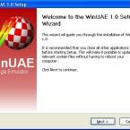 Willkommen zur WinUAE-Installation.