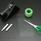 Die Materialien sind einfach und nicht teuer. Einen alten Kugelschreiber hat fast jeder bei sich herumliegen.