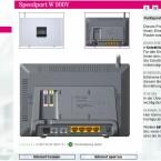 Die Konfigurationsoberfläche präsentiert sich in typischem Telekom-Design.