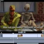 Wenn sich Außerirdische unterhalten, können Untertitel hilfreich sein