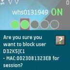 Nutzer können auch vom Zugang wieder ausgesperrt werden.