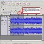 Die Open-Source-Software Audacity kann MP3-Aufnahmen schneiden.