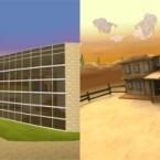Basis für den Chat sind Innen- oder Außenräume wie diese.