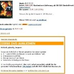Amazon - DVD leihen