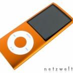 Schokoladenseite: Der iPod Nano macht nicht nur in der Hand eine gute Figur.