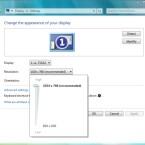 Die Einstellungen für Bildschirmauflösung und Format hat Microsoft aktualisiert.