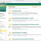 Webnews bringt das, was es verspricht: News aus dem Web aufgeräumt dargestellt.
