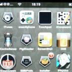 Lief alles glatt erscheint das snes4iPhone-Symbol auf dem Startbildschirm des iPhones.