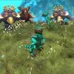 Der Spieler bringt seinem Lebewesen ein bestimmtes Verhalten bei.