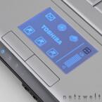 Diese Touchpad kann auch anders - die Lautstärke regeln zum Beispiel.