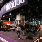 Der Voodoo Stand auf der CES 2008 in Las Vegas.