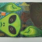 Alien-Maske zum Ausschneiden