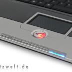 Wer das Touchpad im Dunkeln nicht findet, schaut wahrscheinlich in die falsche Richtung.