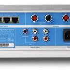 Das Anschluss-Panel des ZP100 ist wesentlich besser bestückt.